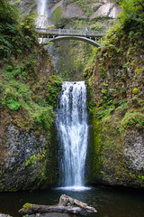 Multnomah Falls, Oregon (Photos By Clark) Tags: oregon unitedstates canon20d places location where northamerica corbett locale canon1740 170400mm