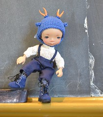 Dairyland BJD 5th Birthday_Mt Horeb, WI (Jemjoop Blythe/BJD) Tags: blue doll meetup helmet bjd toffee ino dairyland loveontherox irrealdoll