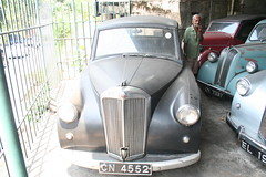 Triumph Mayflower. Classic Car Museum/Dealer, Pilimathalawa, Sri Lanka (SurreyWanderer) Tags: classiccar fifties triumph srilanka standard eight forties mayflower