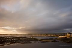 Sunkissed Saltcoats LE (KeyGripBoy) Tags: longexposure sunset beach clouds landscape scotland scenery ayrshire saltcoats outdoorpools