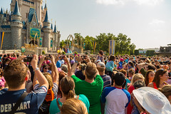 Princess Chaos (Kevin-Davis-Photography) Tags: world castle princess magic crowd kingdom disney merida cinderella walt coronation