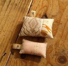 Travel Sewing KIt (*teacupfaery*) Tags: pink coffee sketch handmade sewing snowwhite neutral inmyroom heatherross jeneanmorrison travelsewingkit travelhandmade