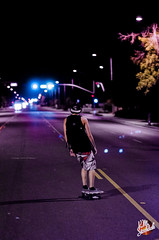 Summer '13 photo a day (Keenan Stockdale) Tags: street night long skateboarding skating skate late boarding longboarding