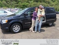 Monroeville Chrysler Jeep would like to say Congratulations to William Balzer on the 2013 Chrysler Town & Country (Monroeville Chrysler Jeep) Tags: new car sedan truck wagon happy pittsburgh jeep pennsylvania used vehicles pa bday chrysler van minivan monroeville suv coupe dealership shoutouts hatchback dealer customers 4dr 2dr preowned