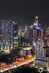 Sukhumvit's delight (Ammar Khalaf) Tags: hotel bangkok conrad bangkokskyline thailandbangkok baiyokeskytower omnitower eos5dmarkii ef70200mmf28lisiiusm