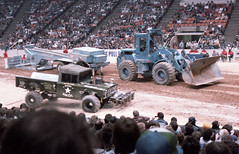 IMG_0054 (Nighthauler Photography) Tags: tractor cars truck pull meadowlands arena crushing bigfoot sled weight