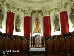 The Main Altar (fajjenzu) Tags: sculpture church statue architecture faith religion malta altar christianity sliema nazarene mainaltar jesusofnazareth jesusthenazarene