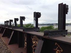 High Line gargoyles (hilpalny) Tags: caterpillar highline carolboveshighlineartcommissioncaterpillar