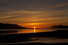 Midnight sun in Akureyri last night (*Jonina*) Tags: sunset sky reflection clouds iceland sland midnightsun akureyri 1000views sk himinn speglun 2000views 3000views 2500views slsetur 100faves 50faves 1500views explored jnnagurnskarsdttir