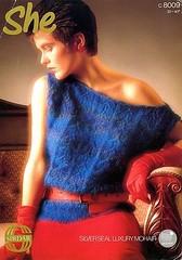 SirdarShe_01 (Homair) Tags: vintage sweater fuzzy fluffy mohair sirdar