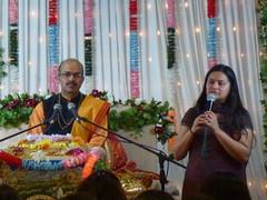 Katha on Mataji Arvindbhai Leicester 011 (kiranparmar1) Tags: leicester story event priest hindu guru katha brahmin mataji recitals 2013 sanatanmandir arvindbhai