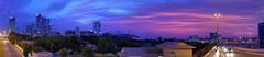 When the lights fade out... (Charn High ISO Low IQ) Tags: sky panorama canon dubai cityscape uae dxo bluehour dubaimarina photostitch twotoned dubaiinternetcity eos6d nikefexpro