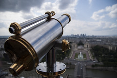 Viewfinder at the Eiffel Tower