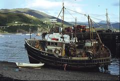 Ullapool Trawler 1979 (frcrossnacreevy) Tags: film scotland canonae1 1001nights ullapool mygearandme mygearandmepremium mygearandmebronze mygearandmesilver mygearandmegold mygearandmeplatinum greaterphotographers