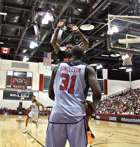 Chris Singleton, the inbounder - 2013 NBA Summer League