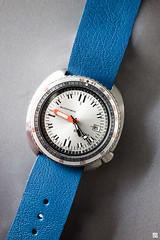Seiko 6309- 7040 Turtle - Soxa mod (Chez Joe) Tags: orange gris watches turtle lumire sony watch bleu seiko nato montre fullmetal watche cuir chezjoe rx100 63097040 lumirecontinue soxa jokv dscrx100 sonydscrx100 cuirbleu natocuirbleu