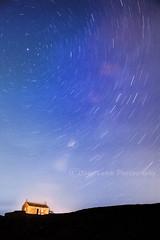 Perseids Meteor Shower (joey lamb) Tags: uk longexposure stars landscape island cornwall 25 stives meteor minutes perseids tokina288028 nikond700