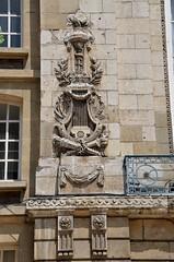 Amiens (Somme) - Ancien thatre (dtail) (Morio60) Tags: 80 thatre amiens picardie rousseau somme troiscailloux