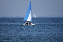 Jenni and Rosie go sailing - 06 (tame_alien) Tags: uk sea england water boat sailing unitedkingdom isleofwight solent vehicle bembridge