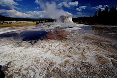 Castle Geyser (breakfast_pizzas) Tags: hot castle nationalpark springs yellowstonenationalpark yellowstone geyser hotsprings castlegeyser