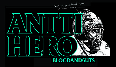 "Blood & Guts ""Antti Hero"" Shirt (yellowleather) Tags: hockey shirt bloodandguts blackflag pettibon bloodguts antihero anttiniemi"