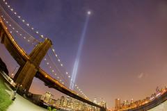 20130911-Tribute-in-Light-12 (gtabones) Tags: park nyc bridge light ny newyork brooklyn memorial 911 brooklynbridge tribute tributeinlight inmemoriam