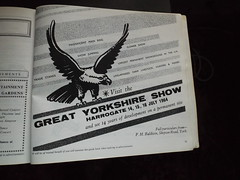 Visit the Great Yorkshire Show DSCF1177 (tomylees) Tags: show old wednesday book yorkshire great 4th july september harrogate 1964 2013