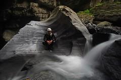 Canyon de la Morge Valais Suisse vers Sion (Guy Decreuse 25) Tags: suisse canyon gorge cascade sion valais rhone granit morge rogne conthey