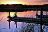 Day's End (Explored) (Wes Iversen) Tags: nature water docks reflections fishing fishermen lakes sunsets hcs cookcountyforestpreserve busselake nikkor18300mm clichésaturday busseforestnaturepreserve