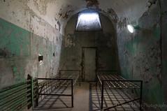 Room for Two (H. Evan Miller) Tags: decay sony ruin prison urbanexploration urbanruins esp easternstatepenitentiary urbex nex hevanmiller nex6