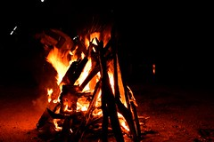 Camp Fire at Yelagiri