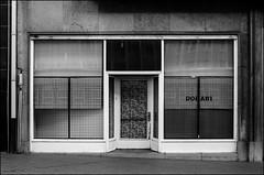Storefront (m.pressions) Tags: horizontal blackwhite belgium belgique zwartwit herfst belgi storefront winkel oostende magazin ostend