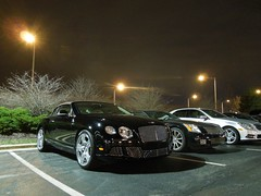Bentley Continental GTC 2012 (Hertj94 Photography) Tags: black public illinois nikon south continental convertible arboretum exotic april british spotted bentley 2012 w12 barrington gtc 2013 s8200