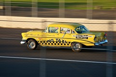 Township Rebellion (4oClock) Tags: usa west classic cars chevrolet 1955 yellow oregon speed america wednesday portland drag nikon muscle no or taxi 14 north 18th racing september international chevy chrome american strip quarter nikkor panning et v8 mile drags dragster raceway 210 pir nhra eighth d90 2013 18105mm nwa13