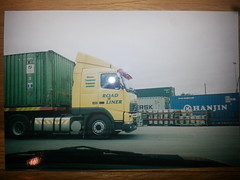 Volvo FH12 420 (baz.snn) Tags: road ireland galway volvo trucks 12 fh containers liner tucking cie fh12
