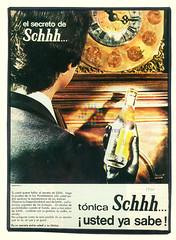 "Schweppes. ""Ladrón"". 1970"