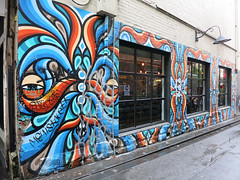Tattersalls Lane Mural by Beastman (wiredforlego) Tags: streetart graffiti mural au australia melbourne mel urbanart cbd beastman