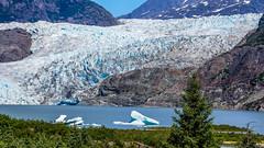 Mendenhall Glacier - Juneau, AK (sureshbhat) Tags: seascape alaska river sony juneau glaciers iceberg oceanview mendenhall icefield tidewaterglacier tidewater scenicsnotjustlandscapes sonyphotographing sonyphotography sonyslta55 sonyslt
