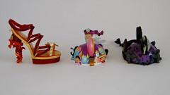 Shoe and Ear Hat Ornaments - Disneyland Purchases - 2014-03-09 - World of Disney - Left Side View (drj1828) Tags: shoe us disneyland visit haunted ornament mansion purchase itsasmallworld mulan mushu 2014 earhat worldofdisney