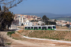 Constantine (قسنطينة) - Citadis 107 : Uphill, 18-03-2014 (Paul van Baarle) Tags: africa church algeria nikon floor trolley low transport kirche tram mosque constantine transportation maghreb afrika algerie streetcar alstom tramway kerk 402 masjid strassenbahn d800 afrique tramvaj electrico tranvia tramwaj moskee tramvia tramwaje algerije citadis tramlijn niederflur قسنطينة lagevloertram citadis402 ibnelarabimasjid