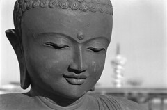 Scheveningen, The Netherlands (jonasfj) Tags: holland netherlands 35mm nikon scheveningen buddha hp5 ilford f25 fa ais 105mm id11 10min