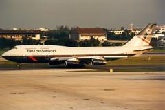 British Airways | Boeing 747-400 | G-BNLU | Bangkok Don Muang (Dennis HKG) Tags: plane airplane airport bangkok aircraft ba boeing britishairways boeing747 747 bkk 747400 donmuang baw planespotting oneworld boeing747400 dmk speedbird donmueang vtbd gbnlu