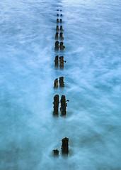Sandsend Groyne (Paul Weller Photography) Tags: longexposure le northsea groyne northyorkshire sandsend