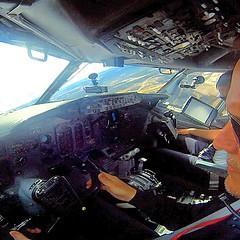 Norwegian 737-300 departing Oslo (JustPlanes) Tags: square cockpit norwegian squareformat boeing pilot boeing737 737300 iphoneography instagramapp uploaded:by=instagram justplanes