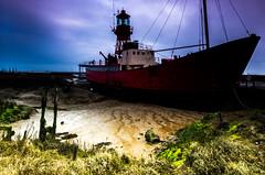 IMGP4967dev (p.g604) Tags: red boats mud tide salt overcast wideangle estuary marsh blackwater essex channels creeks lightship maldon moorings yatchs tollesbury