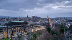 Another grey sunset in the Capital (Damon Finlay) Tags: house st landscape grey scotland edinburgh andrews cityscape fuji edinburghcastle princesstreet fujinon caltonhill standrewshouse xe1 f284 fujixe1 xf1855mm xf1855mmf284