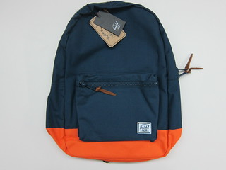 Herschel Supply Settlement Backpack (Navy/Mandarin)