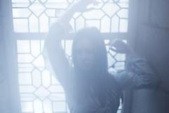{ e t h e r } ~ n u a n c e s . d e . b l e u (gaelsacre) Tags: blue window girl morninglight shades ethereal