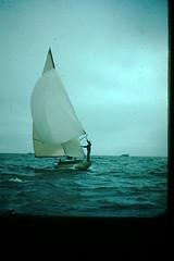 Sailing (25) (foundslides) Tags: johnrudd kodachrome foundslides vintage oldphoto oldphotos retro oldpictures old pix pics photography redborder slides irmalouiserudd analog slidecollection irmarudd