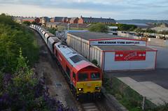 DB Schenker 59204, Melksham (NMBS 5111) Tags: diesel trains db bahn dbs ferrovia melksham class59 stonetrain ukrailways 59204 dbschenker engelsetreinentrainsanglaisbritischezuege woottonbassettmerehead